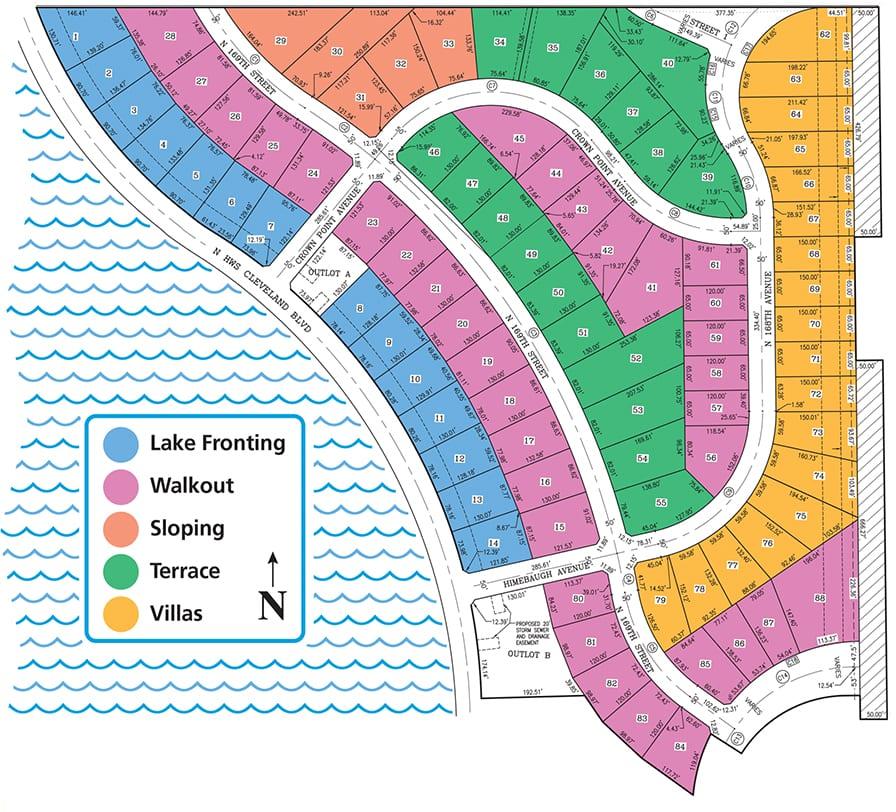 PIER 15 Plat Map