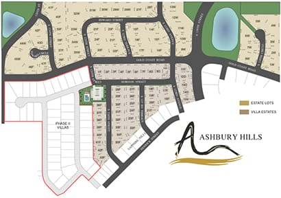 Ashbury Hills Plat Map